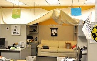 Cubicle zappos